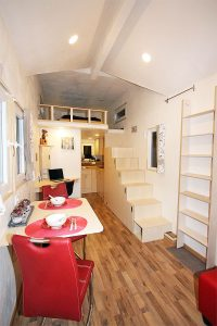 Rolling Tiny House Inneneinrichtung