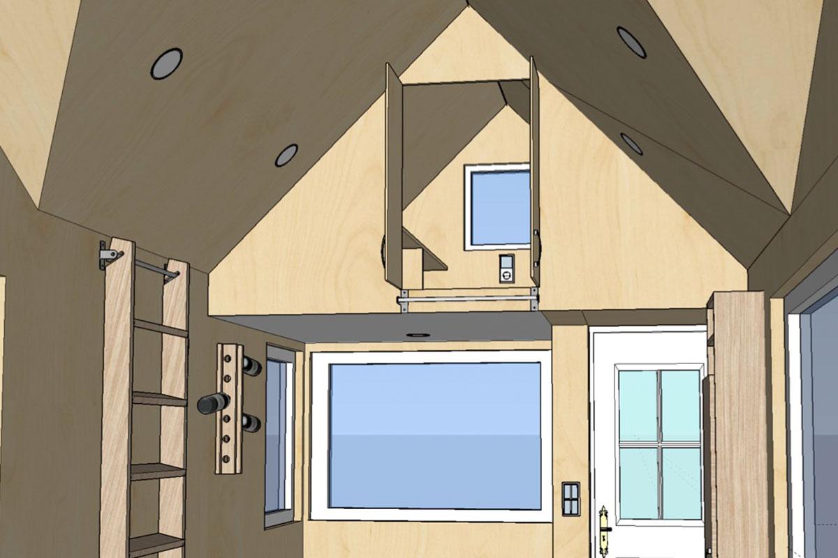 sonderausstattung loftschrank. Black Bedroom Furniture Sets. Home Design Ideas