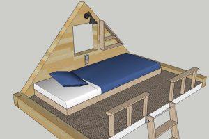 Rolling Tiny House Gästebett