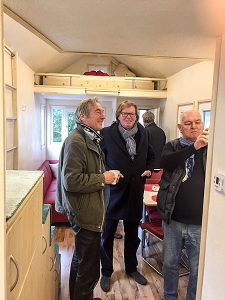 Besuch im Rolling Tiny House