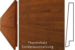 Rolling Tiny House Thermoholz Wasserschlagprofil