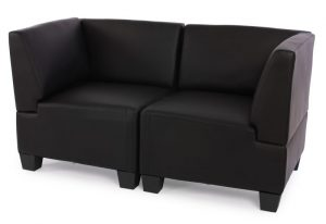 Rolling Tiny House Sofa schwarz