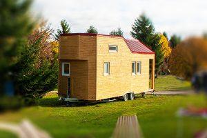 Rolling Tiny House im Urlaub