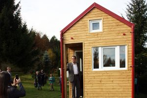 Rolling Tiny House Besucher