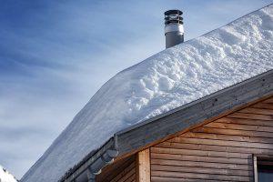 Tiny House mit Schneelast