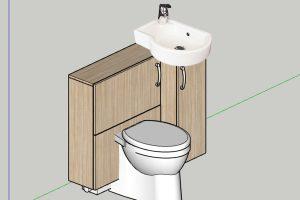 RTH-Badezimmerschrank