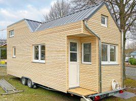 überregional baugenehmigungsfähiges Rolling Tiny House