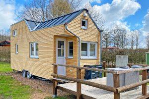 Tiny House Wohnraum Knappheit